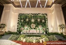 Stunning Stage Decor Ideas / Stunning ideas for Indian wedding functions to amp up your stage! Curated by Witty Vows