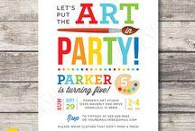 Maxwell's Birthday Parties / by Pilita McHugh Blanchard
