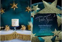 Glitter and stars