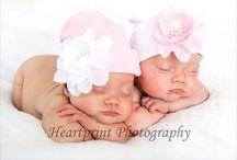 Iker baba fotózás - Twin photography / Ötletek iker babák fotózásához, inspirációk ikrek fényképezéséhez