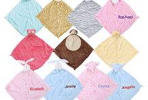 Security Baby Blanket Blankie / by Personalized Baby Gifts, Baby Blankets & Nursery Bedding