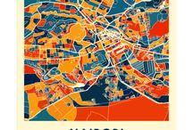 Imagens Impressão - Mapas
