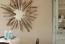 DIY: Starburst mirror