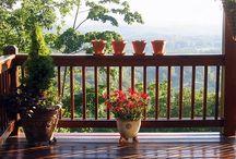 Decks, hand rails & stairs