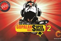 """Gopalan Mall Super Singer 2 / Get ready for a Exciting Mega Event """" Gopalan Mall Super Singer 2 """""""