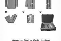 proper ways to fold jacket