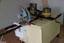 Utilaj fabricare tuburi din carton,div stratificari,lungimi,la 220V sau 380V,automat sau semiautomat
