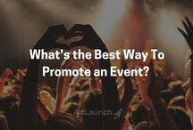 Event Marketing / A collection of marketing tips for event organizers