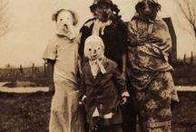 Creepy Vintage Halloween pix