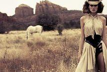 horses and fashion - photoshoot