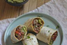 Burritos à la viande
