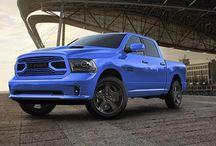 Ram 1500 blue