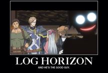 Log Horizon (an actual good anime about being trapped in a video game. Looking at you SAO)