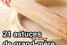Cuisine _ trucs de grand-mère
