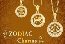 Zodiac Sign Pendant / Zewelslane's zodiac sign pendant will prove to be your lucky charm, bringing you wealth & new opportunities.