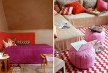 bedrooms / by Kelly