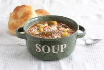 Recipes - Soups / Vegetarian soups, healthy soups, crock pot