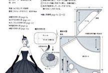Moldes explicativo de costura