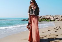 Maxi Dress or Skirt style  / by Foy Joy