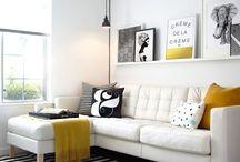 Black-white-yellow
