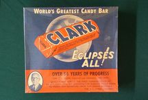 Candy Bars from the past / Candy bars were much larger back in the 1940's thru the 1960s.  Enjoy old candy boxes.
