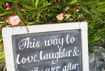 wedding quotes and signs