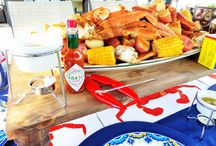 Crab boil / How to throw a crab boil party!