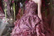 Dusty Rose Pink & Mauve