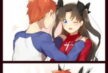 Fate stay night unlimited blades works <3
