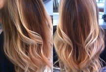 coloration ombre hair !!