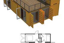 Prefabricated dwellings