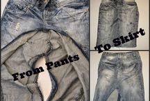 Faldas & vestidos / Faldas hechas por mi y otras inspiraciones
