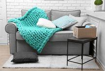 Novo estilo das mantas de sofá - veja as dicas!