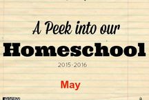 Real Life Homeschooling / Ever wonder what life is like in a real life homeschool? Come take a peek into the lives of homeschooling families!