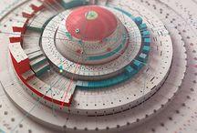 3D INFOGRAPHICS / Déclinaison de la mise en scène des données en image 3D / by Signos