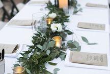 Bröllops dekoration