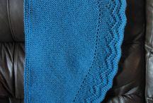 Knitting shawls/scarves / by Chris Folmar