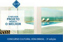 Concurso Cultural VEKA 3ª Edição / Atenção arquitetos! Estão abertas as inscrições para a terceira edição do Concurso Cultural VEKA Brasil. Selecione um ou mais projetos executados com perfis de PVC VEKA e participe!  O grande vencedor terá seu projeto publicado no Anuário Casa Vogue e será capa da próxima edição do Anuário VEKA. Acesse www.veka.com.br/concursocultural e saiba como participar.  #VEKABrasil #SeuPerfilSeuEstilo #ConcursoCulturalVEKA