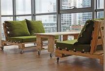 Muebles / Palets para el porche