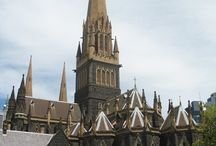 Old Churches of Melbourne / Old churches of Melbourne , australia