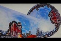 Welcome to the world of panoramic. / 360 degreed panorama. one-shot panorama. circular fisheye.
