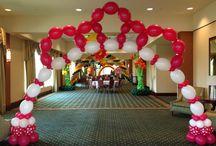 Tiara Balloon Arches / Princess Tiara Balloon Arches