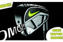 COMPETITIONS! / Win loads of golf stuff!! You'll find the Yourcaddy monthly competitions here!