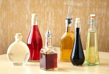 Vinegars and oils