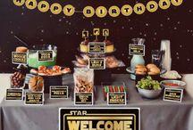 Star Wars party / by JoVena Albin Sumner