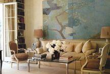 Modern art in interiors