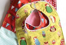 Sew bibs and other kids stuff / Bibs, seat belt travel pillows and other kids stuff. No clothes, toys or dolls etc.