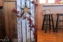 garden wood decor