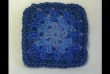 Crochet Granny Square video tutorials and written patterns / Find all my video tutorials and written pattern for crochet granny squares