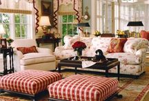 Living rooms / by Kathy Wolansky